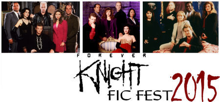FKFicFest banner with 3 season cast photos