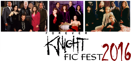 FKFicFest 2016 banner with 3 season cast photos