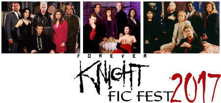 FKFicFest 2017 banner with 3 season cast photos