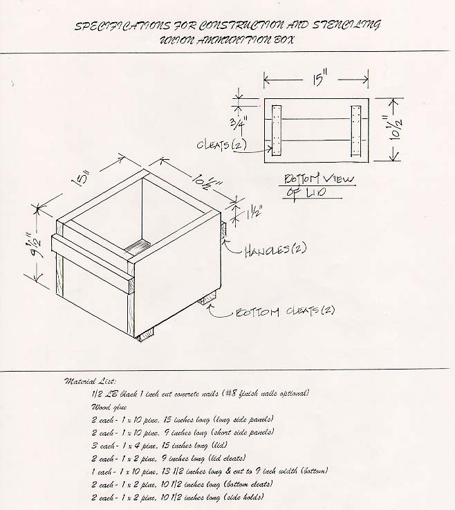 plans for wood ammo box